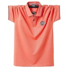 2020ฤดูร้อนผู้ชายPolo Shirtsเสื้อแขนสั้นปักEmblem Topเสื้อขนาดใหญ่5XL Polo