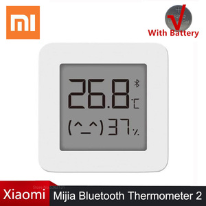 Image 1 - Hot Xiaomi Mijia Bluetooth Thermometer 2 Wireless Smart Electric Digital Hygrometer Thermometer Humidity Sensor Work Mi Home APP