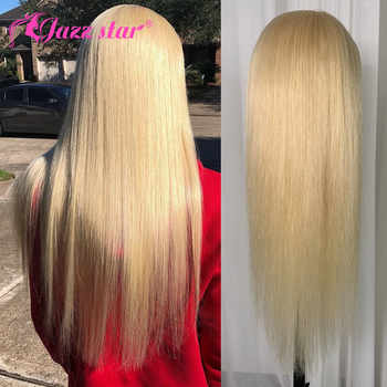 Peruvian Straight Lace Front Human Hair Wigs For Black Women 613 Blonde Lace Front Wig With Baby Hair Jazz Star Lace Wig NonRemy