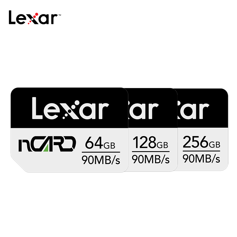 Lexar NM Memory Card 64G Memory Card 128G High-speed 256G For Huawei Mate20 / 30 / P30 PRO / Nova5 Mobile Phone Nano