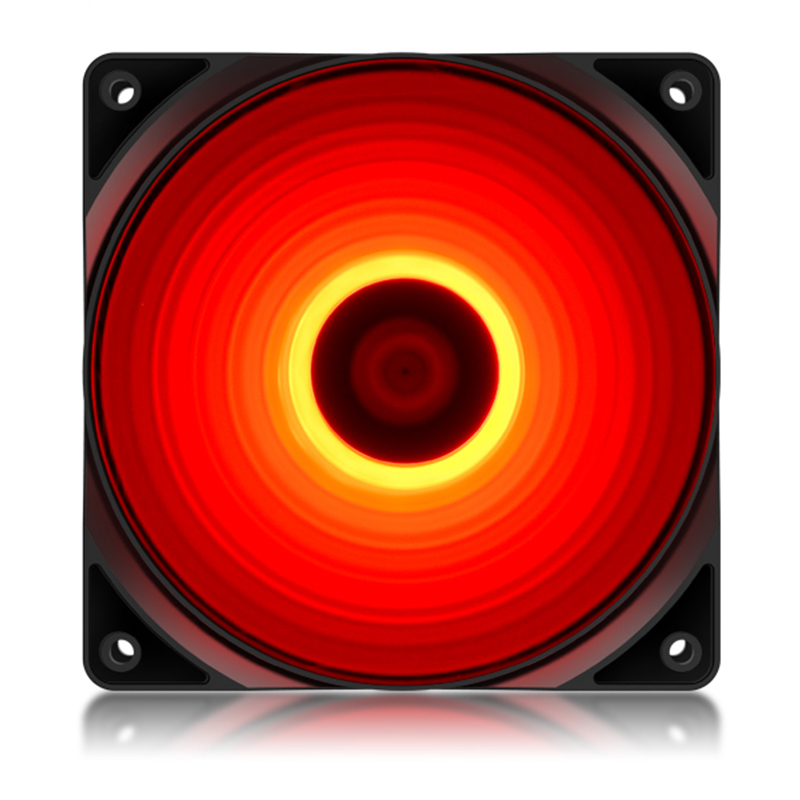 DEEPCOOL RF120 120mm LED Case Fan Quiet 3Pin&IDE 4pin Molex Interface 12cm CPU Cooling Fans