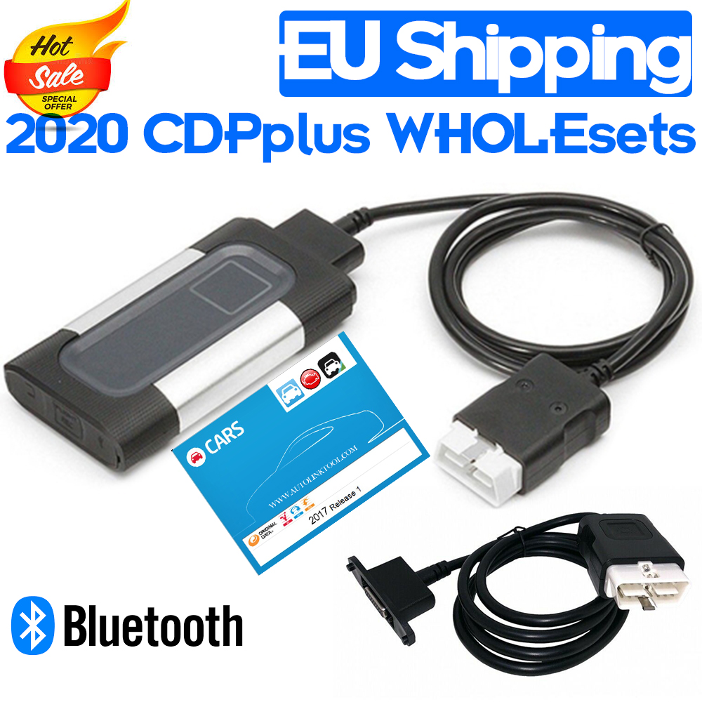 2020 NEW RELEASE 2017 1R BLUETOOTH VERSION CDP  AUTO DIAGNOSTIC INTERFACE with AUTCOOM CAR ORIGINAL DATA for DELPHIS DS150E TCS