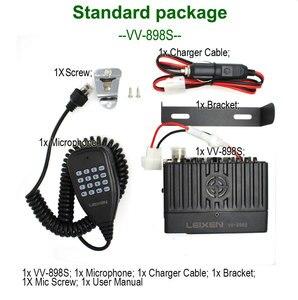 Image 5 - LEIXEN VV 898S Mini Moblie Radio 136 174&400 480MHz Dual band car Transceiver Amateur Ham Radio + USB Programming Cable