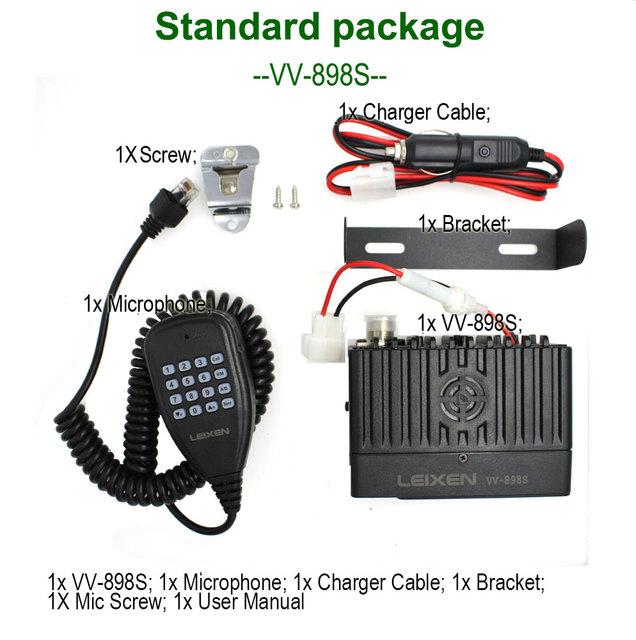 Leixen vv-898s mini moblie radio 1