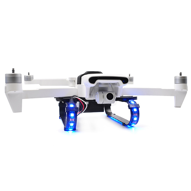 LED Light Extended Landing Gear Kit Accessories For Fimi X8 SE Drone _WK