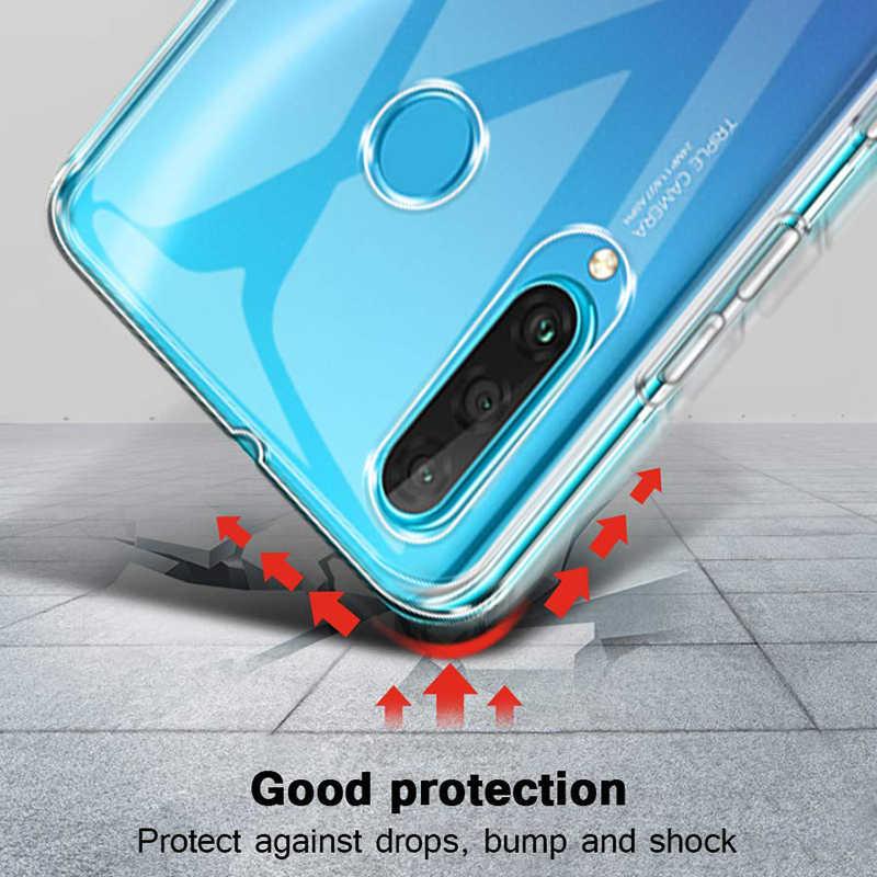 أغطية هواتف محمولة رقيقة للغاية لهاتف هواوي P30 P20 Pro حافظة ظهر 360 حافظة واقية للكاميرا لهاتف Honor 20 من السيليكون