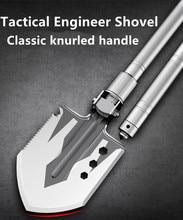 Multifunctional outdoor engineer shovel Vehicle-mounted self-defense folding military camping supplies Multifunctional engineer