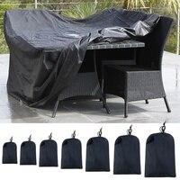 Oxford Tuch Möbel Abdeckung Staub Proof Wasserdichte Tragbare Möbel Abdeckung Für Outdoor Sonnensegel & Netze