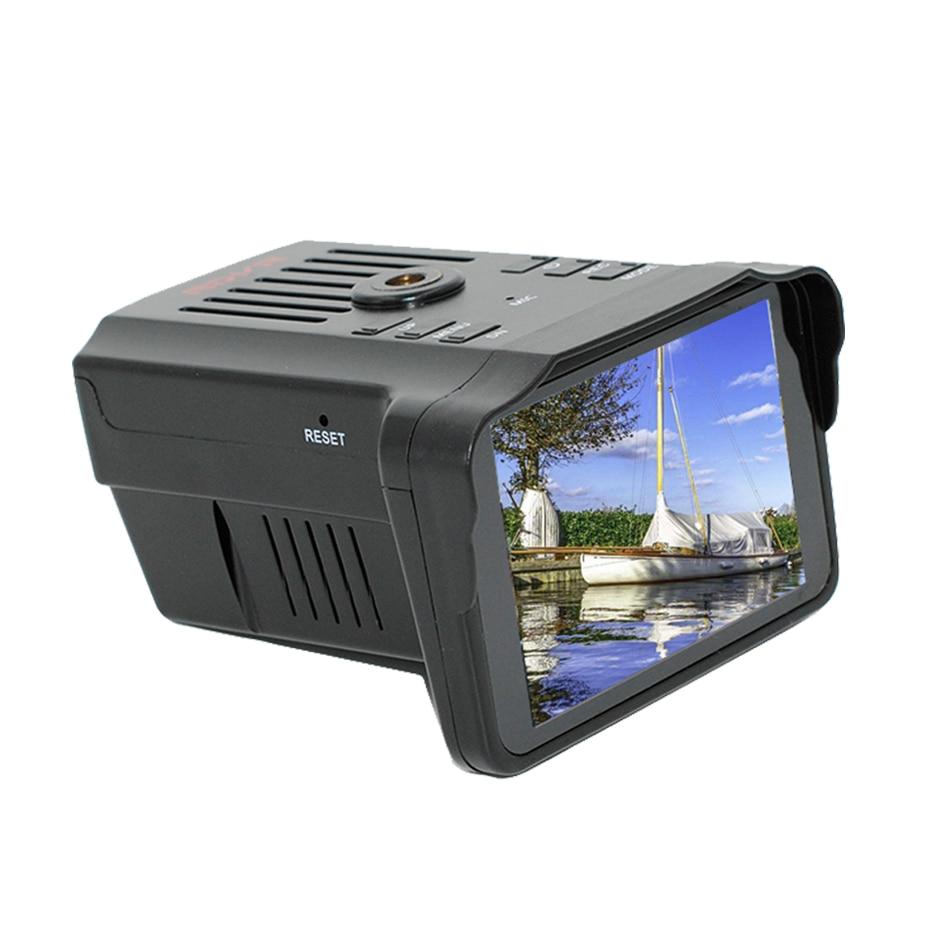 2-In-1 Anti-Radar-Dvr Speed-Camera Recorder Register Car with Signal