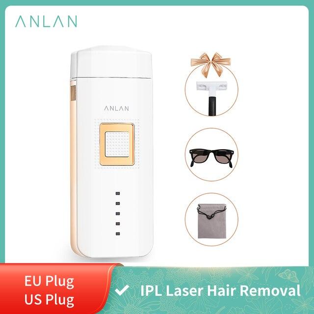 Лазерный эпилятор для женщин Anlan IPL Laser Epilator 1