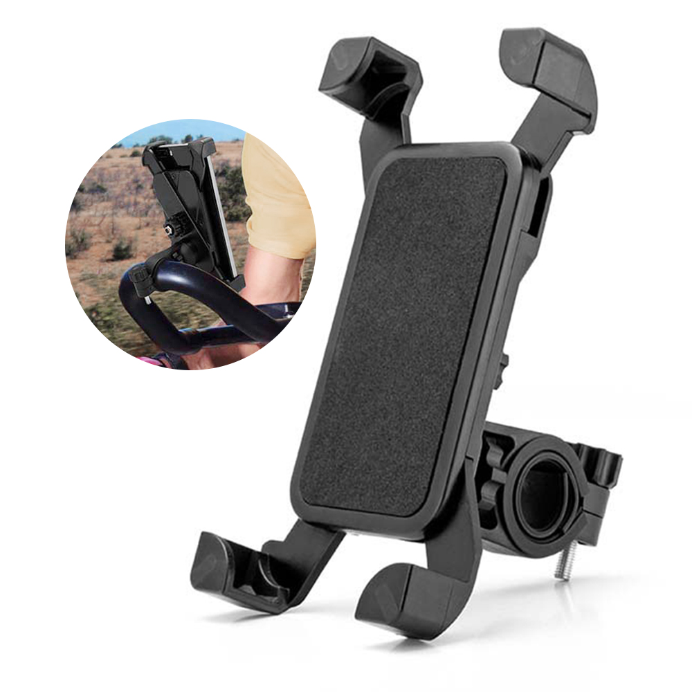 Universal Bicycle Mobile Phone Holder Silicone Motorcycle Bike Handlebar Stand Mount Bracket Mount Phone Holder For iPhone