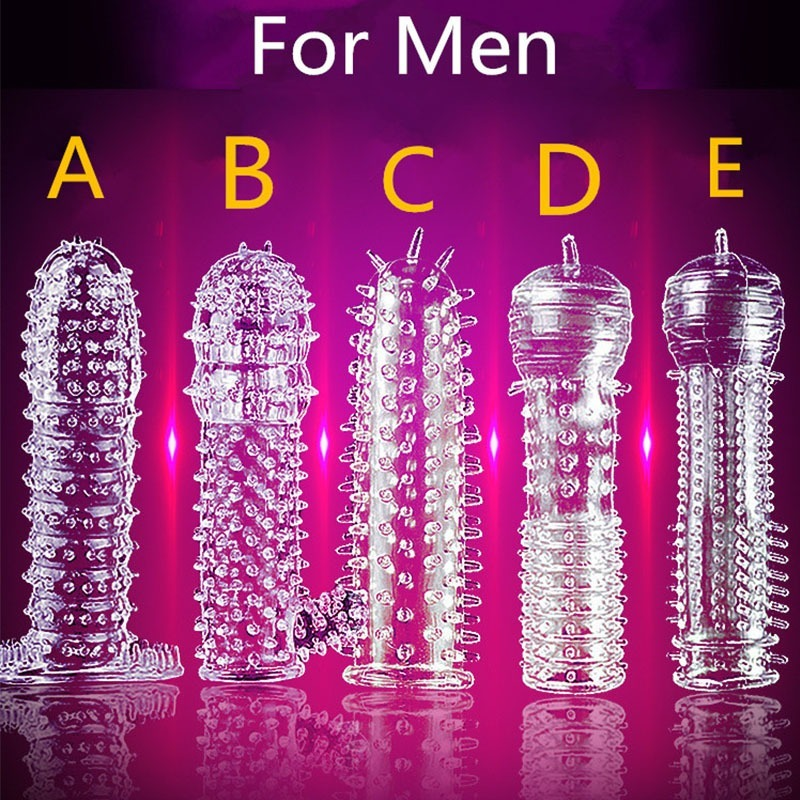 5 Models Delay Crystal <font><b>Penis</b></font> Sleeve Textured Extension Reusable <font><b>penis</b></font> for Couple <font><b>ring</b></font> <font><b>Sex</b></font> Products Adult <font><b>Sex</b></font> <font><b>Toys</b></font> for Men image