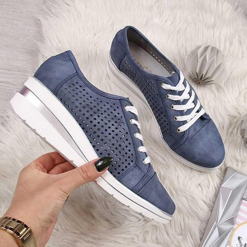 Nuevos zapatos planos de cuero de verano para mujer, zapatos bajos, zapatos planos suaves casuales, sandalias de mocasines transpirables con nudo de lazo para mujer