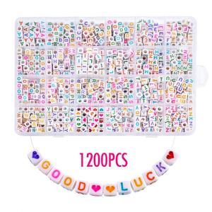 1200pcs DIY Acrylic Letters Al