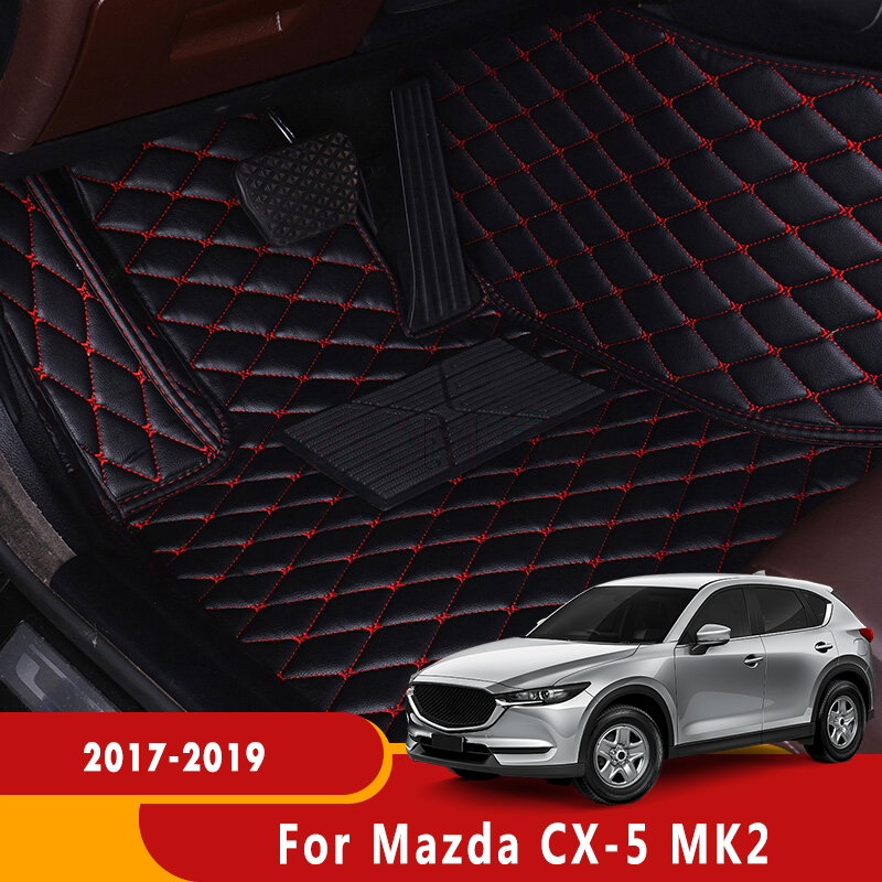 Auto Interior Decoration Car Protector Rugs Car Styling LHD Car Floor Mats For Mazda CX-5 MK2 2017 2018 2019