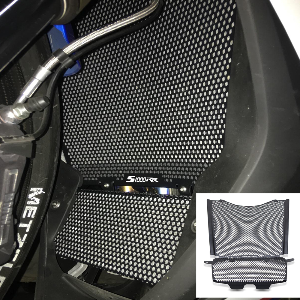 Motorcycle <font><b>Accessories</b></font> Radiator Guard Protector Grille Grill Cover With S1000RR LOGO For <font><b>BMW</b></font> <font><b>S</b></font> <font><b>1000</b></font> <font><b>RR</b></font> S1000RR Sport 2019 2020 image