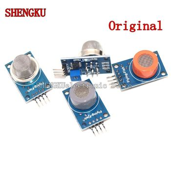 Gas Sensor Smoke Sensor MQ-2 MQ-3 MQ-4 MQ-5 MQ-6 MQ-7 MQ-8 MQ-9 MQ-135 Detection alcohol methane liquefied Module for Arduino image