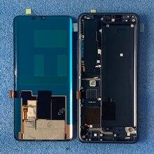 """6.47 """"الأصلي ل شاومي Mi نوت 10 Mi نوت 10 برو LCD شاشة عرض الإطار لوحة اللمس محول الأرقام ل شاومي Mi CC9 برو"""