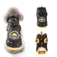 Hipidog Best Seller Printed Star Cotton Dog Vest Winter Snow Jacket Free Shipping