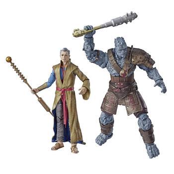 Figuras originales de Marvel Legends Series 80th, juguetes Brinquedos, figuras de Grandmaster y Korg, modelo regalo