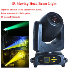 American DJ Beam Mini 1R DMX Moving Head Light High Brightness Japanese Phoenix Moving Head Stage Disco Party Effect Lighting стоимость