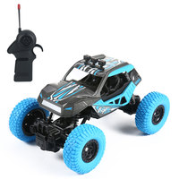 Barrier free Cross country Wading RC Off road Car 1:20 Alloy Storng Dual Motor High Body Design Remote Control Cars Toys Gifs