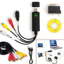 2021 Nieuwe 1Set USB2.0 Vhs Naar Dvd Converter Au Dio Video Capture Apparaat Kit Voor Windows 10