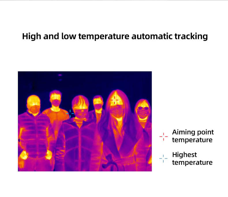 Infrared Thermal Camera With Live Streaming to Computer or TV Bluetooth For Human Body 12