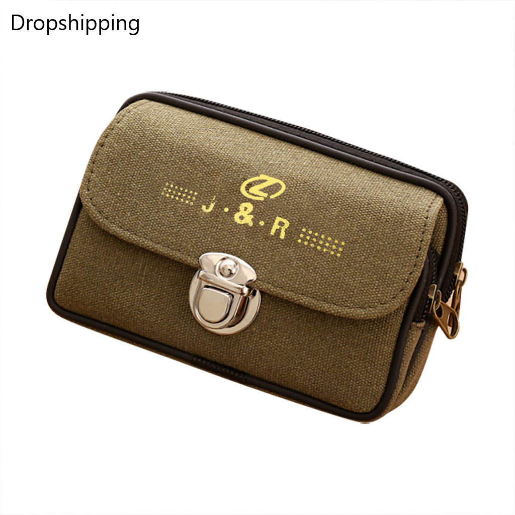 Men's Phone Bag Middle-Aged Old Pockets Wholesale Waterproof Vintage Coin Purse Women Wallets Small Clutch Female Money Bag #2