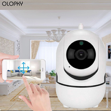 Wifi 1080P Baby Monitor 2 Way Audio Smart Camera With Motion Detection Track Voice Alarm Security IP Camera Wireless Baby Camera 1pcs wobbler fishing lures15 5cm 16g artificial hard bait minnow crankbait swim bass trolling pike carp fishing tackle fish bait