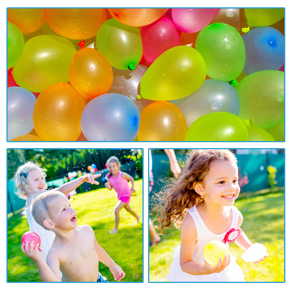 111pcs Summer Water Balloons Toys For Children Adults Outdoor Water Game Pool Games Beach Party