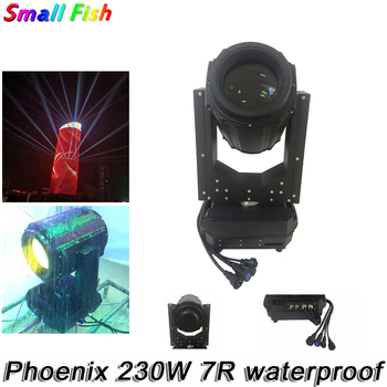 цена на Flight Case Packing Outdoor Stage Light 230W 7R IP65 Waterproof Moving Head Beam Light Beam 230W Moving Head For Theater Disco