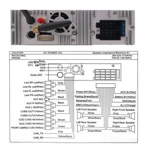 Image 4 - 유니버설 1 din 안드로이드 10 쿼드 코어 자동차 DVD 플레이어 GPS 와이파이 BT 라디오 BT 2GB RAM 32GB rom 16GB 4G SIM 네트워크 스티어링 휠 RDS