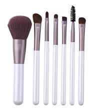 7pcs Cosmetic Pen Tools Makeup Brushes Set Eye Shadow Eyelash Eyebrow Pro Beauty Brush Make Up