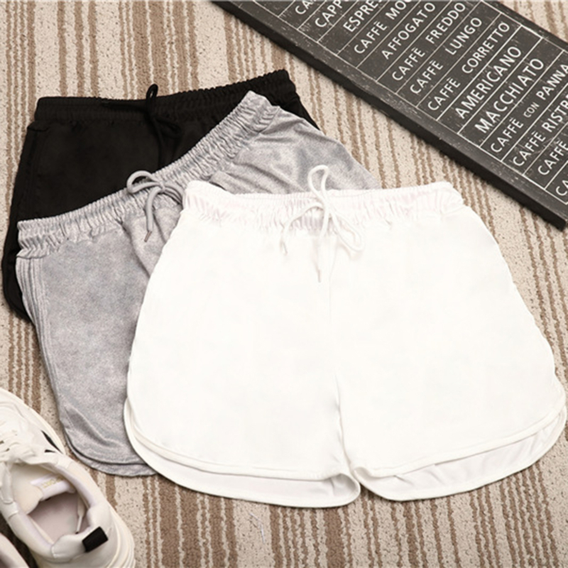 2021 Women Casual Shorts Patchwork Body Fitness Workout Summer Shorts Female Elastic Skinny Slim Beach Egde Short Hot