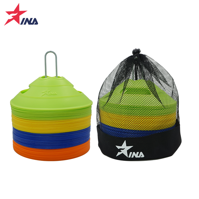48 four-color football training logo disc logo cone obstacle football training equipment competition training equipment