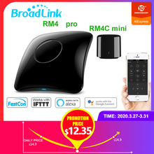 Broadlink RM4 Pro RM4C Mini 2020Universal Intelligent Remote Controller Smart Home Automation WiFi+IR+RF Switch For IOS Android broadlink rm4 pro 2020 newest universal intelligent remote controller smart home automation wifi ir rf switch for ios android