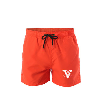 Men's quick-drying double-layer swimming trunks swimming shorts swimming trunks beach board shorts swimming trunks swimwear men' geometric print color block sport men s swimming trunks