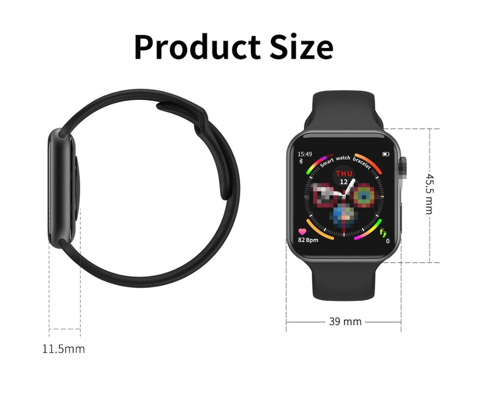 F10 Smart Watch Full Touch Screen Heart Rate Blood Pressure Bluetooth SmartWatch Sports Fitness Bracelet Tracker Fitness Watches Pakistan