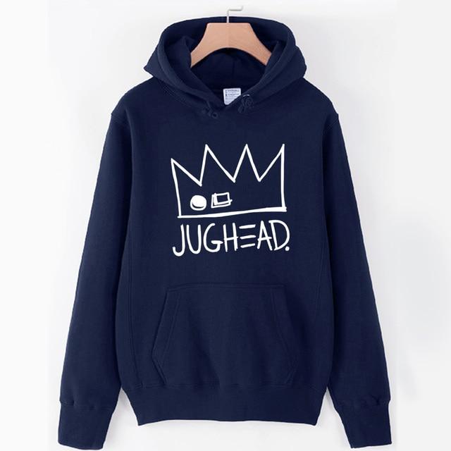 Jughead Jones Crown South Side Serpents Riverdale Girl Woman Hoodie Autumn Winter Fleece Couple Clothes ZIIART 5