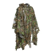 Hunting suit new 3D maple leaf bionic hunting suit sniper birdwatching airsoft camouflage jacket and pants 2020