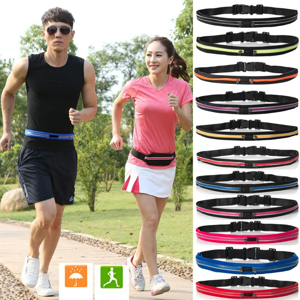 Belt Bag Waist Banana Fanny Pack Men Women Outdoor Stretch Sports Pockets Mobile Phone Heuptas Marsupia Donna 2019 HOT NEW 2