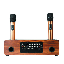 Karaoke Recording Microphone Wireless Singing Audio Professional Bluetooth Speaker For Home Use