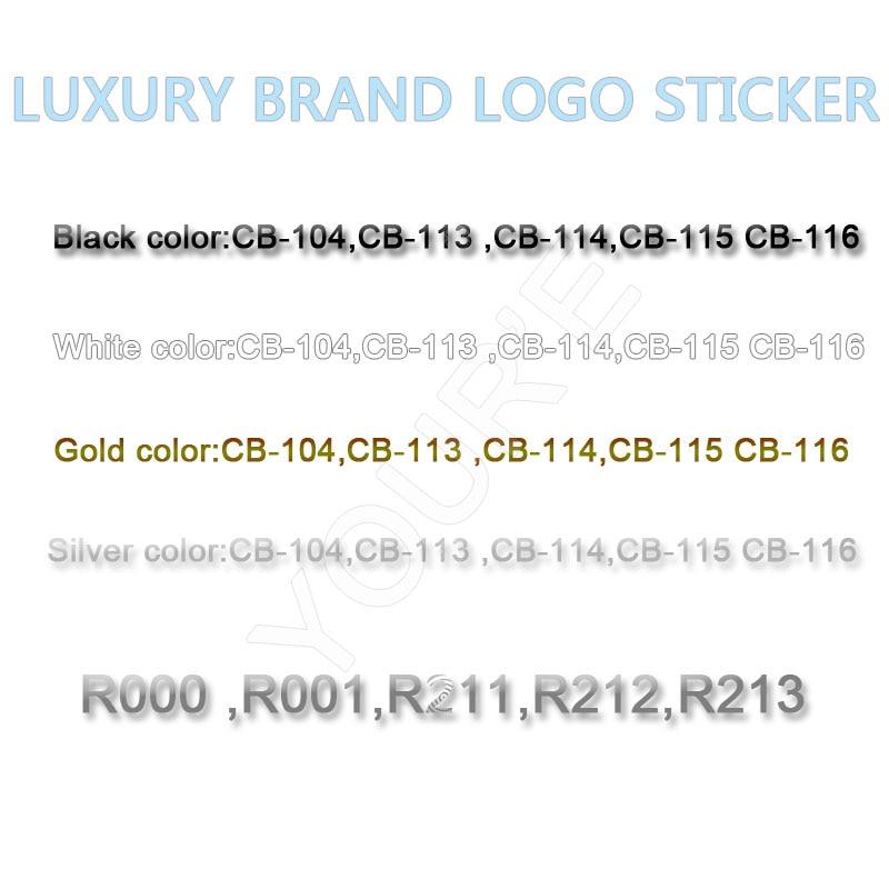 Украшения для ногтей, маникюрная наклейка, роскошный бренд, логотип, наклейка для ногтей, клей на тыльную сторону, самодельные наклейки, фол...