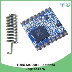 1p 868 mhz super baixa potência rf lora módulo sx1276 chip de longa distância comunicação receptor e transmissor spi iot com antena