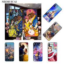NBDRUICAI Beauty Beast Rose Princess Custom Photo Soft Phone Case for Xiaomi 8 9 se 5X Redmi 6pro 6A 4X 7 5plus note 5 7 6pro(China)