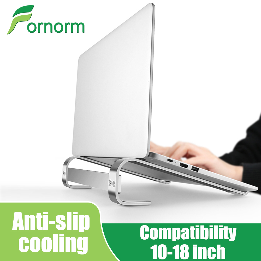 10-18 Inch Aluminum Alloy Folding Laptop Stand Adjustable Notebook Support Stand For Macbook Pro Non-Slip Cooling Bracket