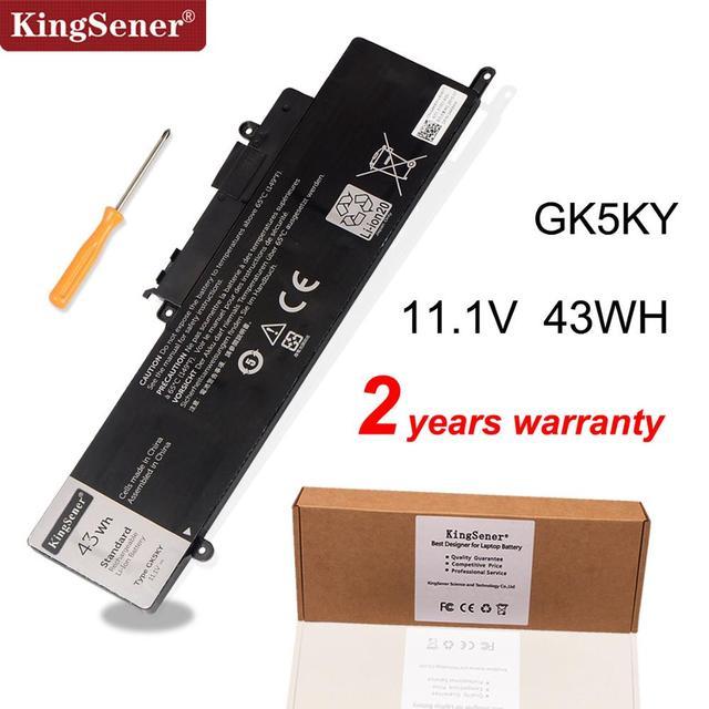 """KingSener GK5KY Laptop Battery For DELL Inspiron 13""""  7000 Series 7347 7348 7352 7353 7359 11"""" 3147 3148 15"""" 7558 04K8YH 43WH"""