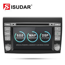Isudar 2 Din Android 9 Car Multimedia player Per Fiat/Bravo 2007 2008 2009 2010 2011 2012 DVD Automotivo radio GPS 2 GB di RAM DSP(China)