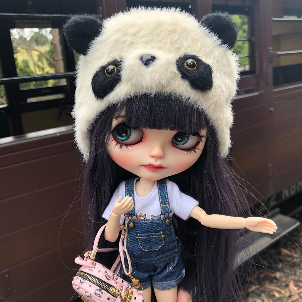 1/6 Blyth Doll Toy Bjd Joint Body White With Skin Makeup Doll With 19joint Body Makeup Face Doll Sleep Eyes
